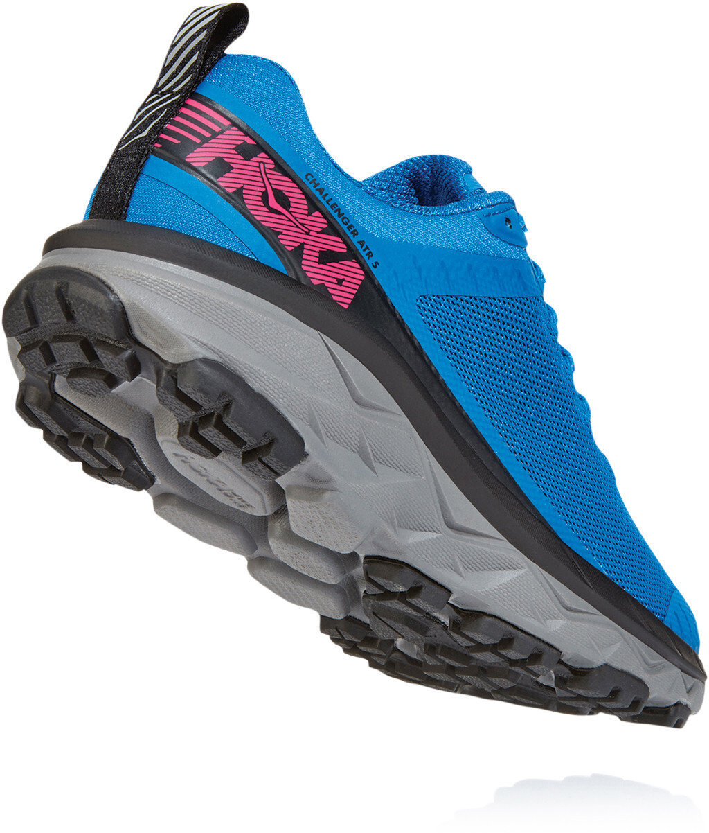 Hoka One One Challenger ATR 5 Shoes Women imperial bluepink peacock